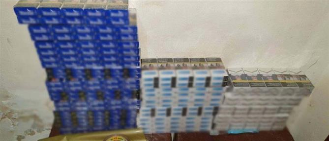Συλλήψεις για λαθραία τσιγάρα - κατάσχεση χιλιάδων πακέτων (εικόνες)