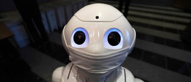 Κορονοϊός: Ρομπότ διευκολύνει την επικοινωνία των ασθενών σε νοσοκομείο
