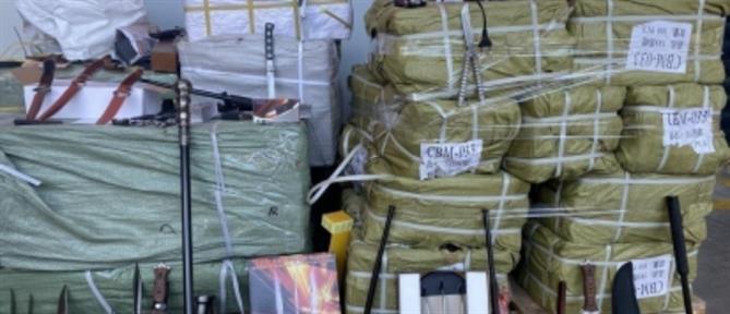 """""""Λαβράκια"""" από την ΑΑΔΕ: Ναρκωτικά, όπλα, ΙΧ και σκάφη αναψυχής"""
