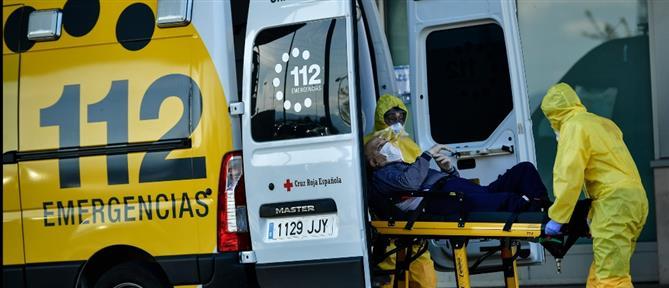 Κορονοϊός: Τραγωδία δίχως τέλος στην Ισπανία