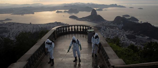Κορονοϊός - Βραζιλία: Ξεπέρασαν τους 105.000 οι νεκροί