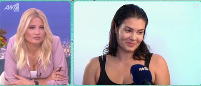 """Η Μαρία Κορινθίου για την κόρη της και το """"Καφέ της Χαράς"""" (βίντεο)"""