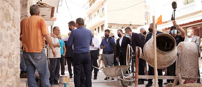 Μητσοτάκης από Φάρσαλα: Η ανάπτυξη θα αφορά όλους τους Έλληνες