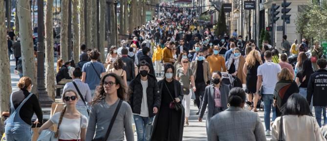 Κορονοϊός - Γαλλία: Τα περισσότερα κρούσματα εδώ και δύο μήνες