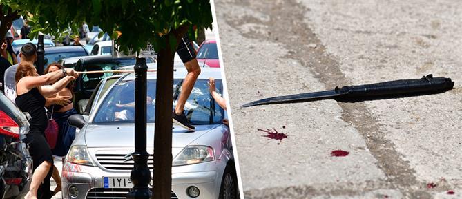 Πανικός στο Ναύπλιο: Ξύλο, τραυματίες και καταστροφές αυτοκινήτων (βίντεο)
