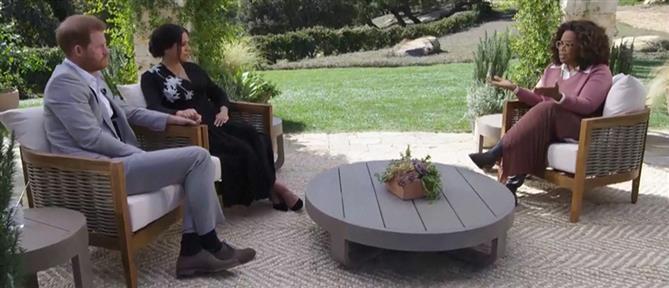 """Συνέντευξη Χάρι-Μέγκαν: """"Τριγμοί"""" στα Ανάκτορα του Μπάκιγχαμ (βίντεο)"""