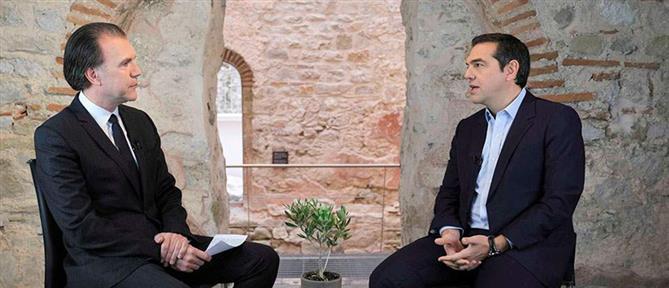"""""""Πυρά"""" Τσίπρα στην κυβέρνηση για ελληνοτουρκικά και αστυνομική βία"""