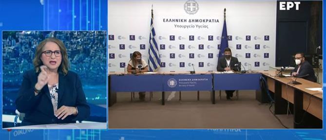 Κορονοϊός: Παπαευαγγέλου και Χαρδαλιάς για την αύξηση στα κρούσματα και τα μέτρα (βίντεο)