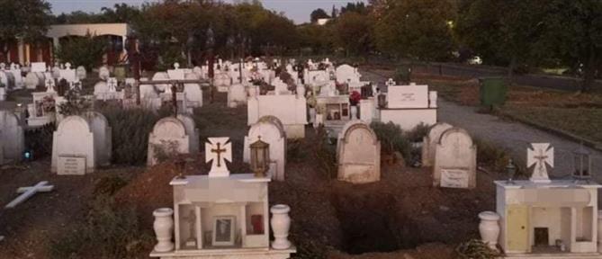 Κορονοϊός – Θεσσαλονίκη: ανοίγουν δεκάδες νέους τάφους για τα θύματα (εικόνες)