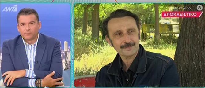 """Ρένος Χαραλαμπίδης στο """"Πρωινό"""": είναι φυσικό και να μην αρέσω (βίντεο)"""