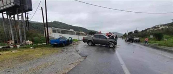 Σοκαριστικό βίντεο από τροχαίο δυστύχημα