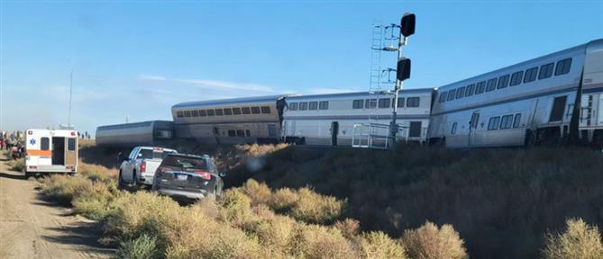 ΗΠΑ: εκτροχιασμός τρένου με νεκρούς