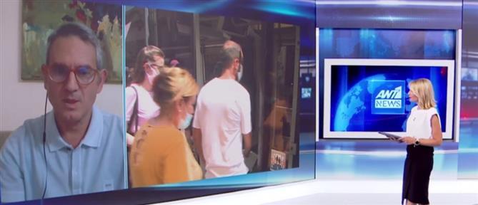 Κορονοϊός - Παρασκευής στον ΑΝΤ1 για την εξάπλωση των κρουσμάτων στην Αττική (βίντεο)
