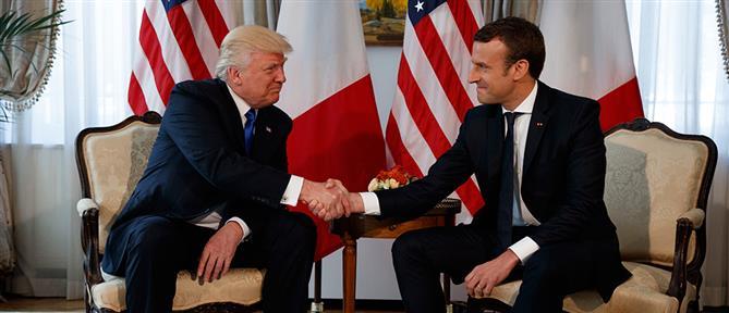 Μακρόν σε Τραμπ για την Ανατολική Μεσόγειο: Θα επιβάλλουμε ειρήνη και ασφάλεια