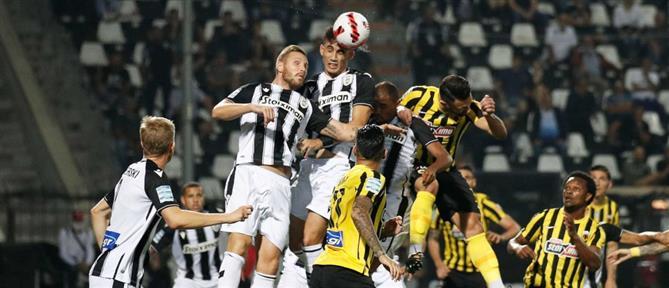 """ΠΑΟΚ - AEK: Πήρε το ντέρμπι ο """"δικέφαλος του βορρά"""" στην Τούμπα"""