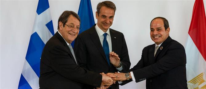 Μητσοτάκης: Η τριμερής Ελλάδας - Κύπρου - Αιγύπτου είναι φάρος σταθερότητας