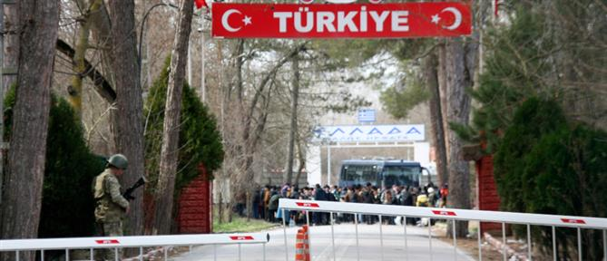 Κλειστά τα ελληνοτουρκικά σύνορα στις Καστανιές (εικόνες)