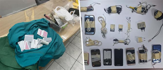 ΓΑΔΑ: Μαχαίρια, φαλτσέτες και αλκοόλ στις φυλακές (εικόνες)