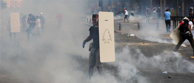 Βηρυτός: Βίαια επεισόδια - Διαδηλωτές πολιόρκησαν το κοινοβούλιο (εικόνες)
