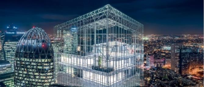 """Tour Saint-Gobain'"": ένας γυάλινος ουρανοξύστης στο Παρίσι (εικόνες)"