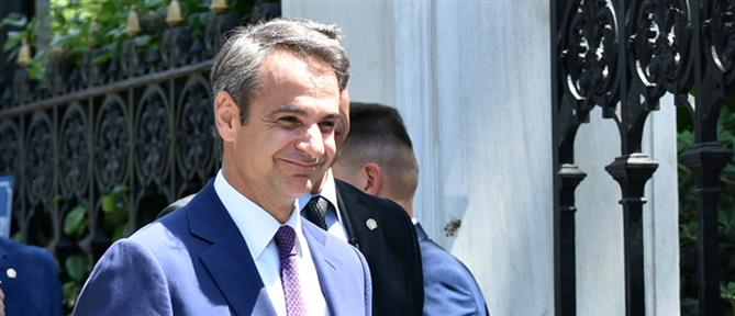 Πρώην Πρωθυπουργούς συναντά ο Μητσοτάκης
