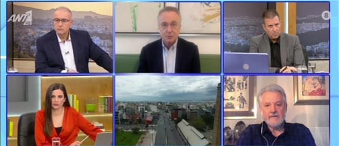 Κορονοϊός - Καπραβέλος στον ΑΝΤ1: έλεγχος της διασποράς με τον κόσμο έξω (βίντεο)