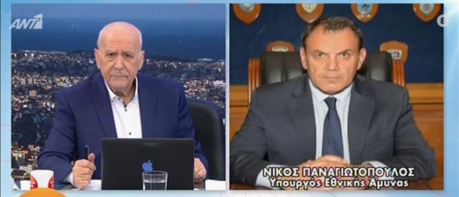 Παναγιωτόπουλος στον ΑΝΤ1 για Τουρκία: ετοιμαζόμαστε για όλα τα ενδεχόμενα