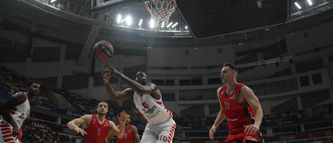 Euroleague: ο Ολυμπιακός προδόθηκε από την άμυνα του