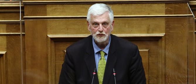 """Γιάννης Λοβερδος: Ο """"Ρουβίκωνας"""" πέταξε τρικάκια στο γραφείο του βουλευτή της ΝΔ"""