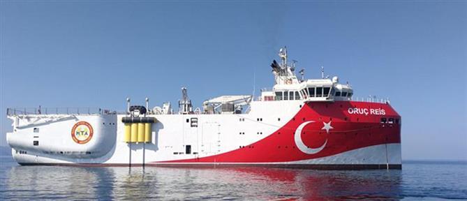 Oruc Reis: επέστρεψε στην Αττάλεια το τουρκικό ερευνητικό πλοίο