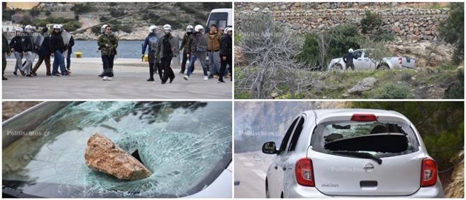 Καταγγελίες, έρευνα και κόντρα για τα επεισόδια σε Λέσβο και Χίο (εικόνες)