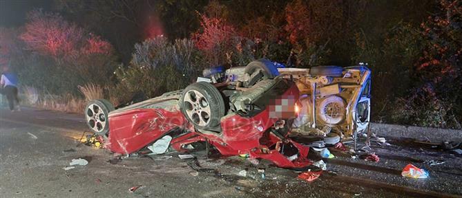 Χανιά: Τροχαίο δυστύχημα με εμπλοκή πέντε αυτοκινήτων (εικόνες)