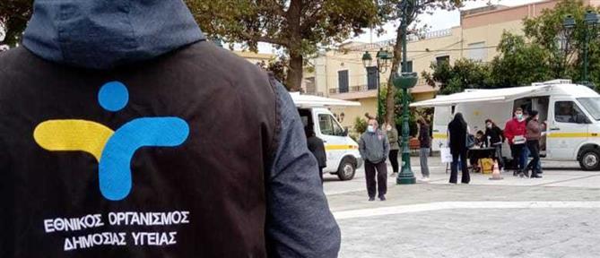 Κορονοϊός - Αρκουμανέας: Ο ΕΟΔΥ κάνει 32.000 τεστ την ημέρα