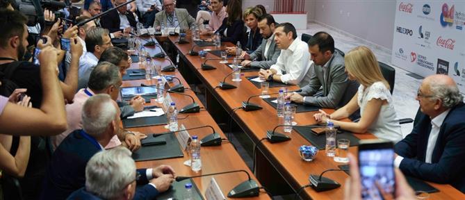 Τσίπρας: η ΔΕΘ ξαναβρήκε την θέση που της αξίζει (εικόνες)