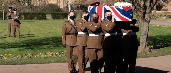 Με στρατιωτικές τιμές η κηδεία του Κάπτεν Τομ (εικόνες)