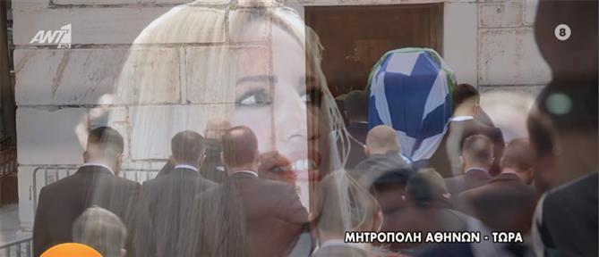 Φώφη Γεννηματά: το λαϊκό προσκύνημα στην Μητρόπολη (εικόνες)