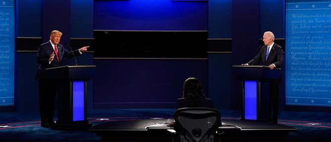 Αμερικανικές εκλογές: το δεύτερο debate Τραμπ - Μπάιντεν (υπότιτλοι)