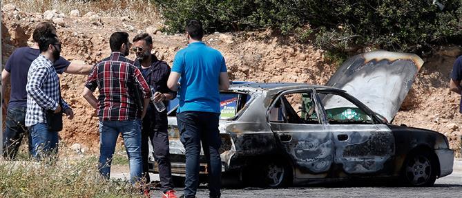 Λήστεψαν καφετέρια και έκαψαν το αυτοκίνητο διαφυγής τους