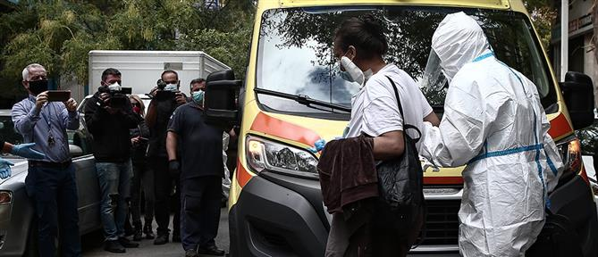 Εκκένωση υπό κατάληψη κτηρίου στο Μεταξουργείο (εικόνες)